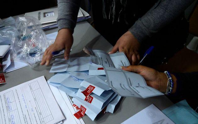 En el centro de Santiago, casi nada permite pensar que el domingo, 14,3 millones de chilenos están convocados a las urnas. Foto: Internet