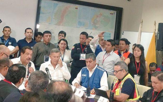 """508 cámaras """"Ojos de Águila"""" brindaron videovigilancia en la ciudad y 503 organismos de respuesta trabajaron en los escenarios. Foto: Municipio Guayaquil"""