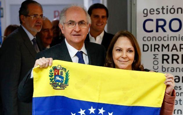 """Ledezma explicó haber escapado de Venezuela hacia Colombia la última semana gracias a """"a la colaboración de militares"""" venezolanos. Foto: Reuters"""