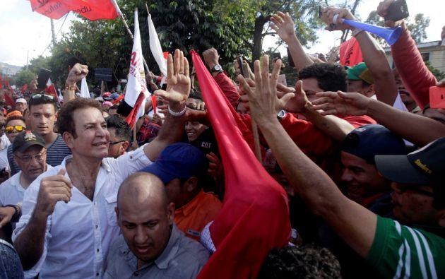 Salvador Nasralla, candidato presidencial para la Alianza opositora. Foto: Reuters