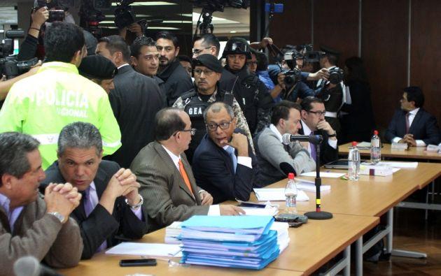 El Tribunal de la CNJ declaró en abandono a la acusación particular que ejercía la Procuraduría porque se atrasó a la reinstalación de la audiencia. Foto: Reuters