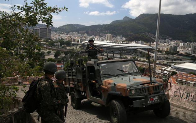El traficante Rogério Avelino da Silva, o Rogério 157, fue detenido en la comunidad de Arará, en la Zona Norte. Foto: Reuters