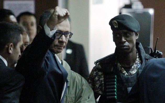 La Fiscalía General del Estado responsabilizó a Glas de beneficiarse de más de 13,5 millones de dólares. Foto: Reuters