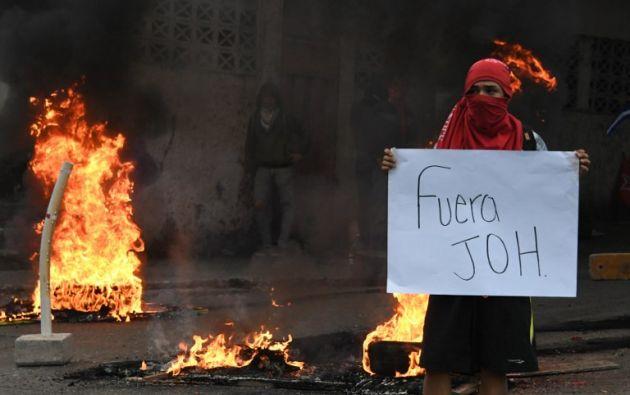 """La crisis política en Honduras por un supuesto """"fraude"""" en las elecciones del 26 de noviembre ha causado 18 muertos, denunció hoy el expresidente Manuel Zelaya. Foto: AFP"""