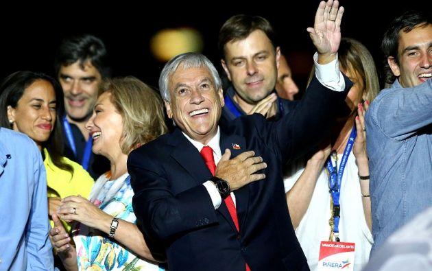 Entre la primera y la segunda vuelta, Piñera logró aumentar su votación en casi 1,4 millones de votos. Foto: Reuters