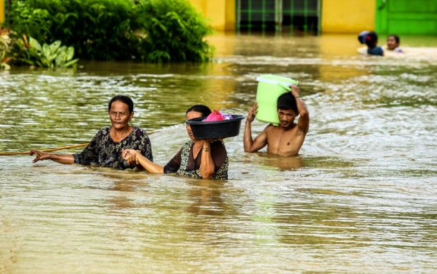 La tormenta Tembin deja más de 130 muertos en el sur Filipinas. Foto: AFP