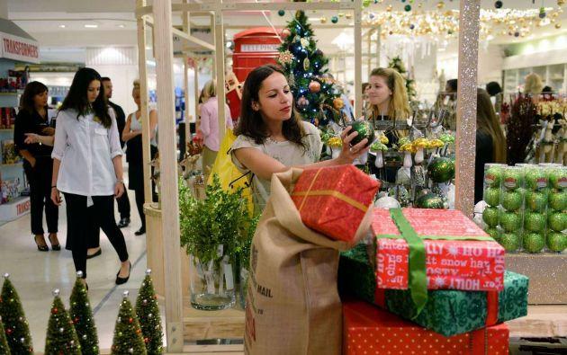 Ventas navideñas en Ecuador crecerán entre 7% y 8% este año. Foto: Referencial