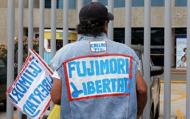 Fujimori ha sido llevado en otras ocasiones a la clínica por similar cuadro de salud, la última vez en septiembre. Foto: Reuters