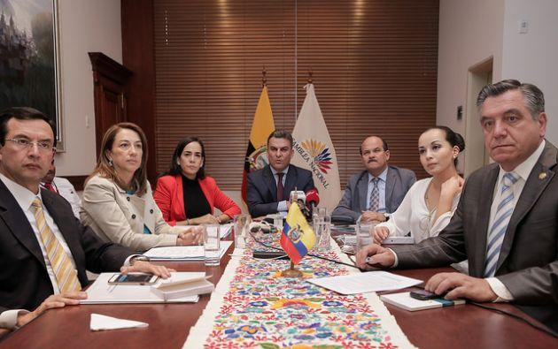El presidente de la Asamblea Nacional, José Serrano, indicó que convocó al CAL a las 17H00. Foto: archivo