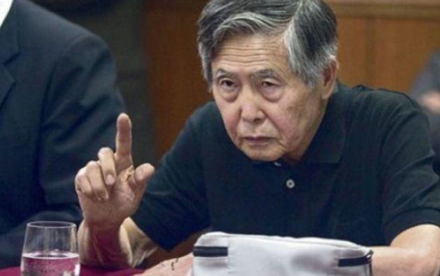 """""""He defraudado también a otros compatriotas. A ellos les pido perdón de todo corazón"""", dijo Fujimori. Foto: Tomada de """"La República"""""""