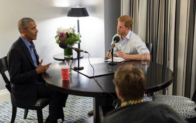 La entrevista fue grabada en Toronto (Canadá) al margen de los juegos Invictus. Foto: AFP
