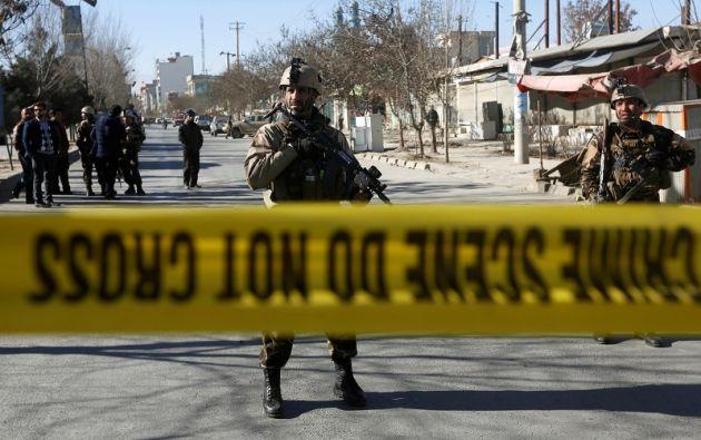 """""""Hay 40 muertos, 30 heridos, no es el balance definitivo, que todavía puede aumentar"""", informó el portavoz. Foto: Reuters"""