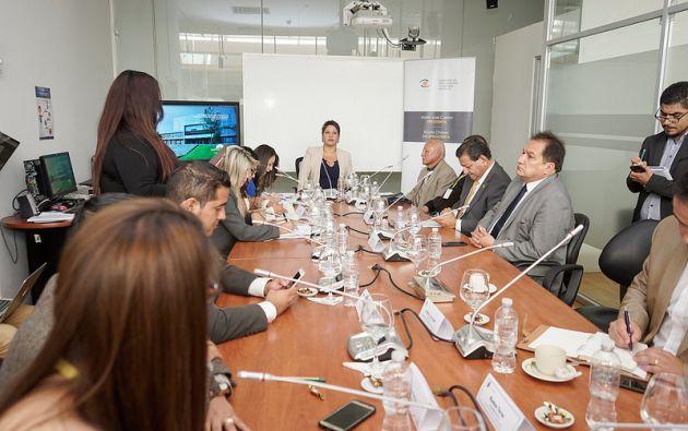 María José Carrión anunció que dicha instancia legislativa se reuniría posiblemente el martes 2 de enero de 2018. Foto: Asamblea Nacional