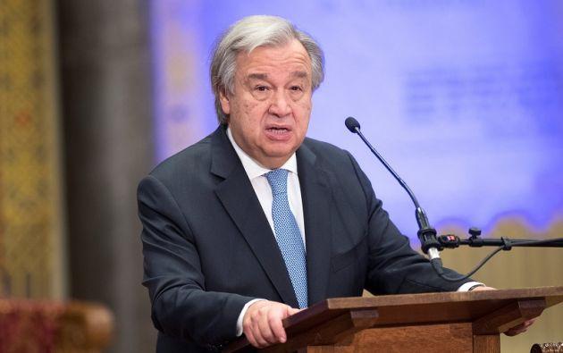 """""""Los desafíos son cada vez más globales y, sin embargo, los pueblos se están replegando cada vez más sobre sí mismos"""", remarcó Guterres. Foto: Reuters"""