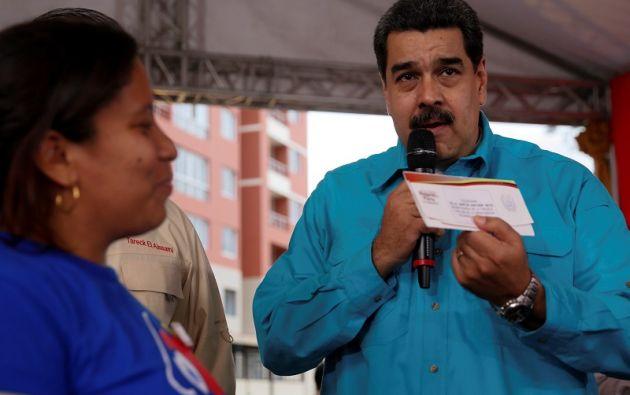 """Paralelamente, Maduro decretó una subida de casi el doble del bono de alimentación conocido como """"cestatícket"""". Foto: Twitter"""
