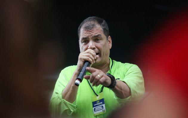 """Es """"muy posible"""" que el exgobernante retorne a Ecuador esta misma semana, un día después de que inicie oficialmente la campaña electoral para la consulta. Foto: Reuters"""