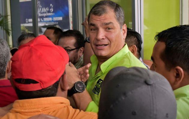 """Se trata, comentó Patiño de """"volver a las raíces del trabajo puerta a puerta"""". Foto: AFP"""