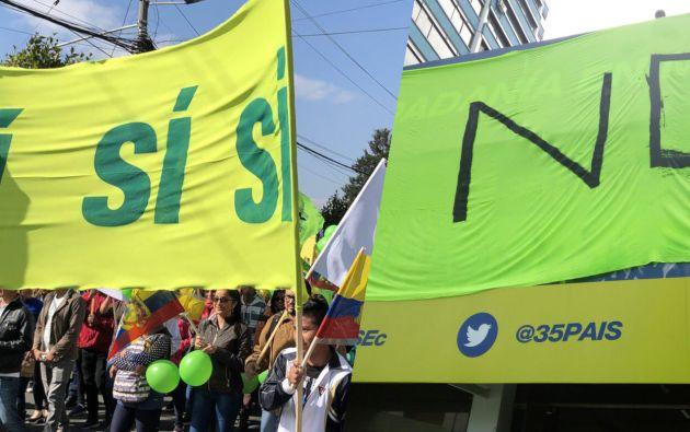 La campaña durará hasta el 1 de febrero, luego de esto los organismos se acogen al periodo de silencio electoral. Foto: Vistazo