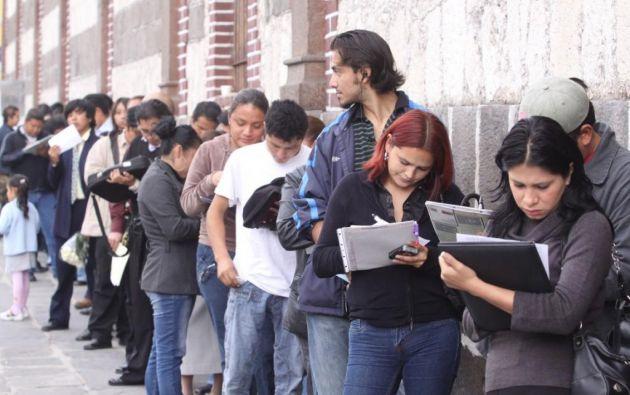 """La iniciativa """"Contrato Juvenil"""" busca generar 60.000 plazas de empleo para jóvenes de entre 18 y 26 años de edad hasta 2021. Foto: Andes"""