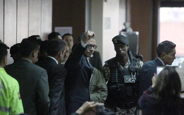 La Comisión de Fiscalización decidió abstenerse de continuar con el juicio político de censura contra Glas. Foto: Reuters