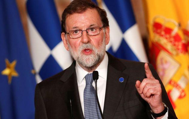 """""""No se puede tomar posesión desde Bruselas y si lo hace el artículo 155 seguirá en vigor"""", declaró el dirigente conservador. Foto: Reuters"""