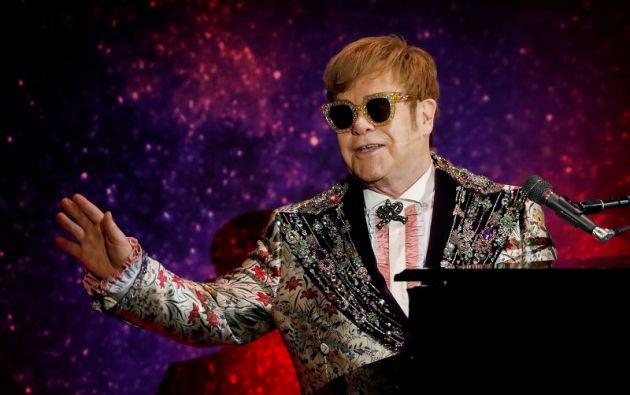 """""""No haré más giras"""", dijo el extravagante pianista y cantante británico de 70 años. Foto: Reuters"""