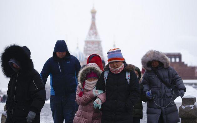 La mayor tempestad de nieve jamás registrada perturbaba fuertemente la vida cotidiana en general. Foto: Reuters