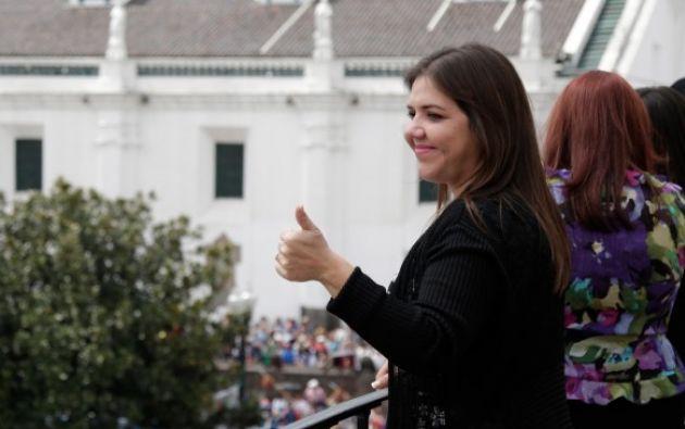 Vicuña sostuvo que en los próximos días el Presidente de la República, Lenín Moreno, dará a conocer sus nuevas competencias.