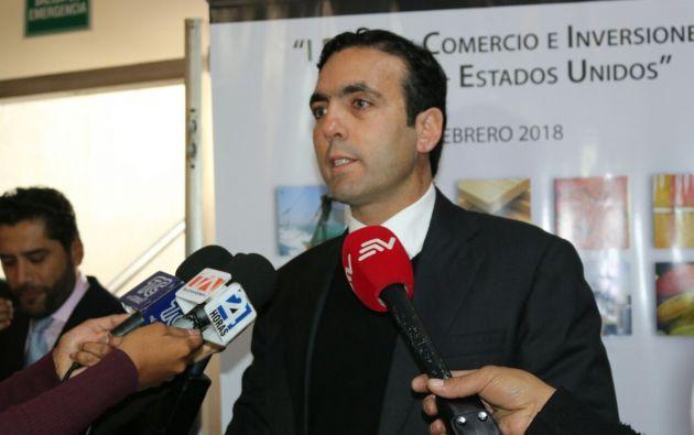Campana destacó que, en enero, se generaron 45.000 empleos y se suscribieron acuerdos por 514 millones de dólares.