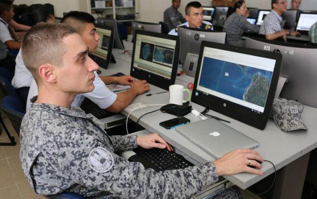 La Escuela Militar de Aviación Marco Fidel Suárez (EMAVI), en Cali, será donde se recepten las imágenes. Foto: Fuerza Aérea Colombia.