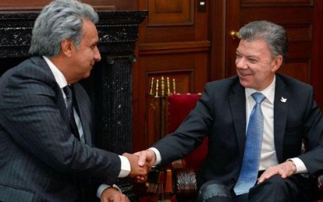 El Gabinete Binacional es la más alta instancia creada por Colombia y Ecuador para armonizar sus políticas en beneficio de los habitantes de ambos países. Foto: Archivo
