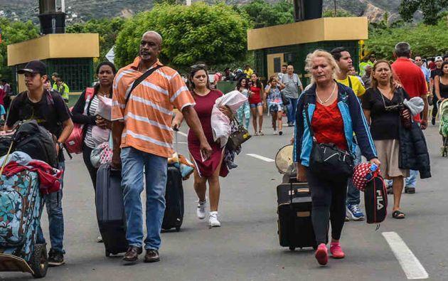 Según estimaciones oficiales unos 40.000 venezolanos viven en Boa Vista, la capital de Roraima, equivalente al 10% de la población de la ciudad. Foto: Periódico Contacto