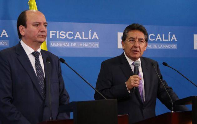 """""""Son 13 millones de archivos electrónicos (...) compartidos con el fiscal Baca"""", precisó Martínez"""