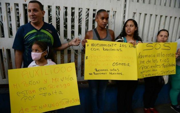 CIDH otorga medidas cautelares para niños con trasplantes en Venezuela. Foto: Archivo