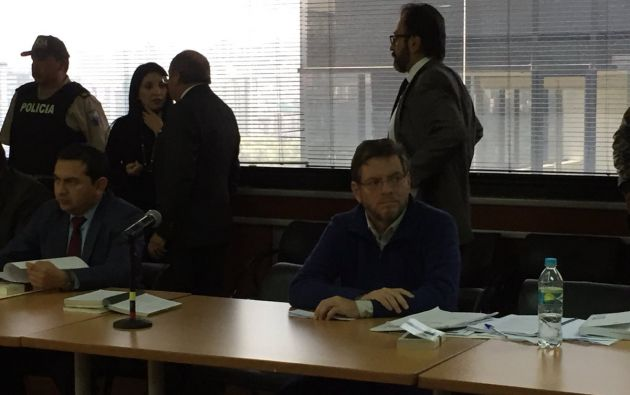 En abril de 2017 Mosquera se convirtió en el primer detenido en Ecuador por la trama de sobornos de la empresa brasileña. Foto: @JacquelineRodas
