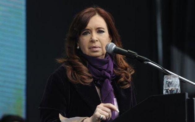 """Kirchner, de 65 años, está acusada de formar una """"asociación ilícita"""". Foto: Internet"""
