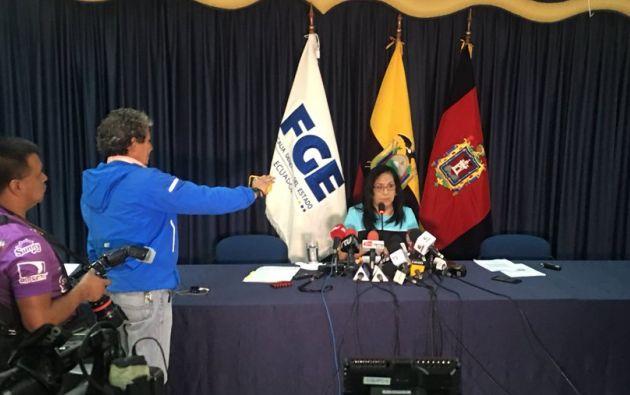 La Fiscal denunció violencia de género hacia ella debido a las acusaciones vertidas en su contra. Foto: Twitter