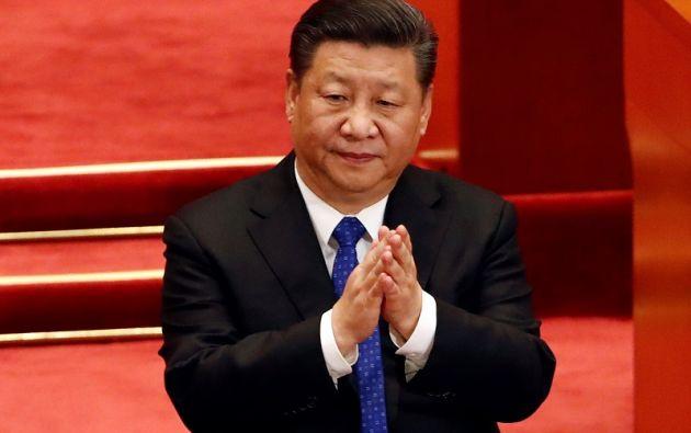 Cómodamente instalado en su asiento en el inmenso Palacio del Pueblo, Xi Jinping escuchó plácidamente los nutridos aplausos de los 2.980 diputados. Foto: Reuters
