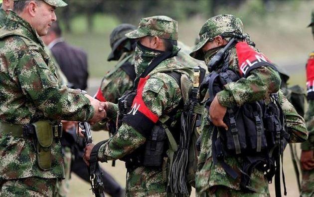 El operativo se llevó a cabo en el departamento de Antioquia contra una columna del grupo guevarista. Foto: archivo