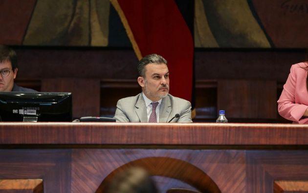 En días pasados, Serrano manifestó que él no renunciará  a su cargo. Foto: Asamblea
