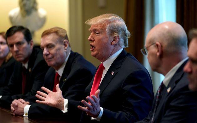 El anuncio desató temores de una guerra comercial entre Estados Unidos y sus principales socios comerciales. Foto: Reuters