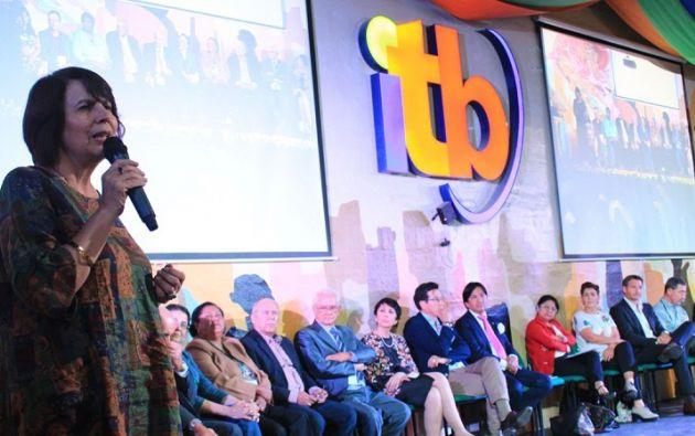 Los eventos pedagógicos organizados por el Instituto Tecnológico Bolivariano reúnen reconocidas figuras del ámbito educativo del país y del extranjero. Foto cortesía Instituto Tecnológico Bolivariano