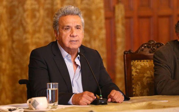 El jefe de Estado llegaría en la noche de este lunes a Quito. Foto: Presidencia
