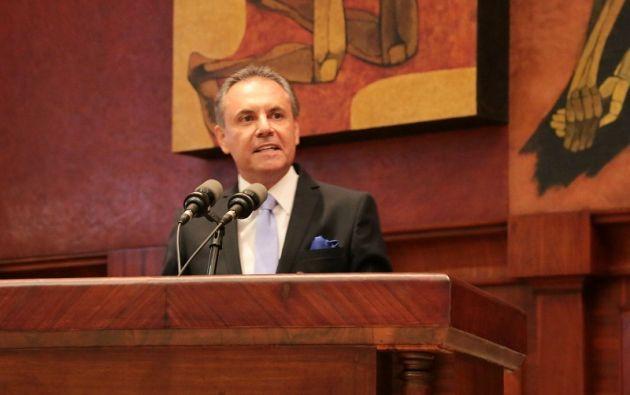 Para el enjuiciamiento, la Comisión no tomó en cuenta el informe de Contraloría, con responsabilidades administrativas en contra de Ochoa. Foto: Asamblea