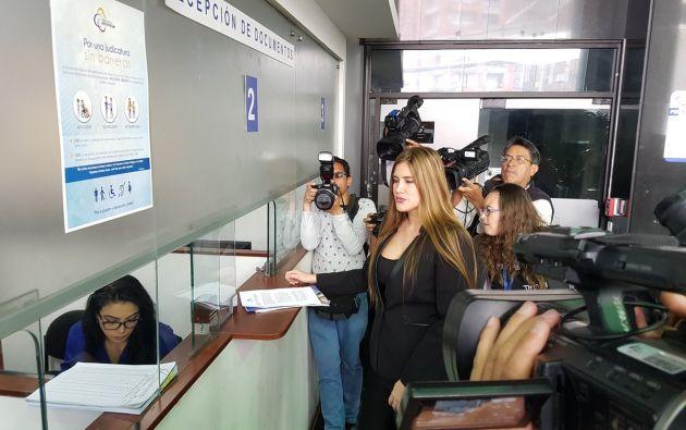 """""""Mal haría en continuar ella como fiscal subrogante de la nación"""", manifestó la legisladora. Foto: @BETTYONTANEDA"""