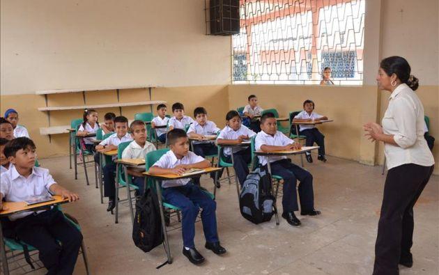 El inicio de clases en San Lorenzo y Eloy Alfaro será el 16 de abril. Foto: Archivo- Ecuavisa