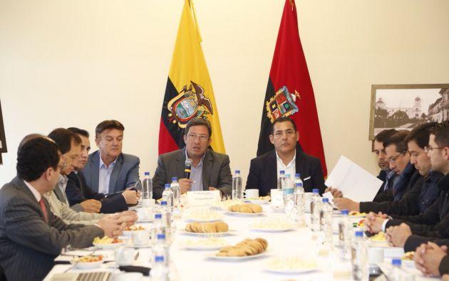 """""""La visión de este Comité  es fortalecer políticas estratégicas"""", dijo Navas. Foto: Ministerio de Defensa"""