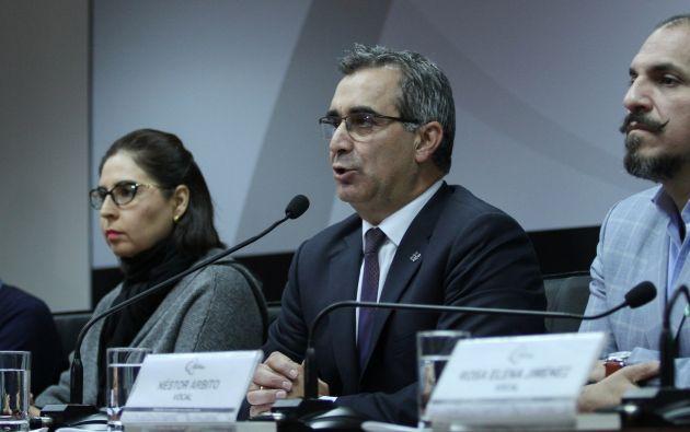 Jalkh, recordó que uno de los concursos tenía el objetivo de llenar 7.000 cargos administrativos en la Función Judicial.