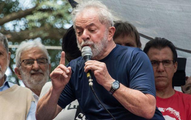 """Lula: """"Voy a cumplir con la orden"""" de prisión. Foto: AFP"""