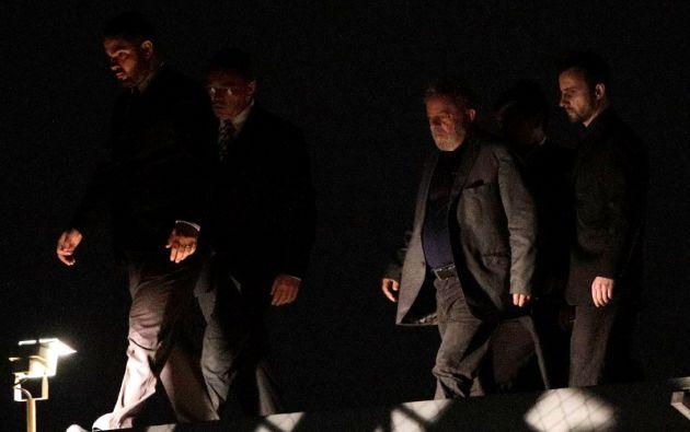 La cárcel del líder de la izquierda ha sido celebrada con fuegos artificiales y champán por sus detractores. Foto: Reuters